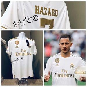 promo code db522 16ca7 🔥 Adidas Eden Hazard #7 Real Madrid Soccer Jersey NWT
